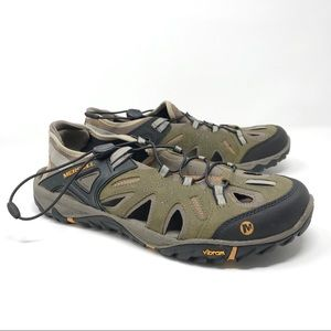 New Merrell All Out Blaze Sieve Sandals Size 13